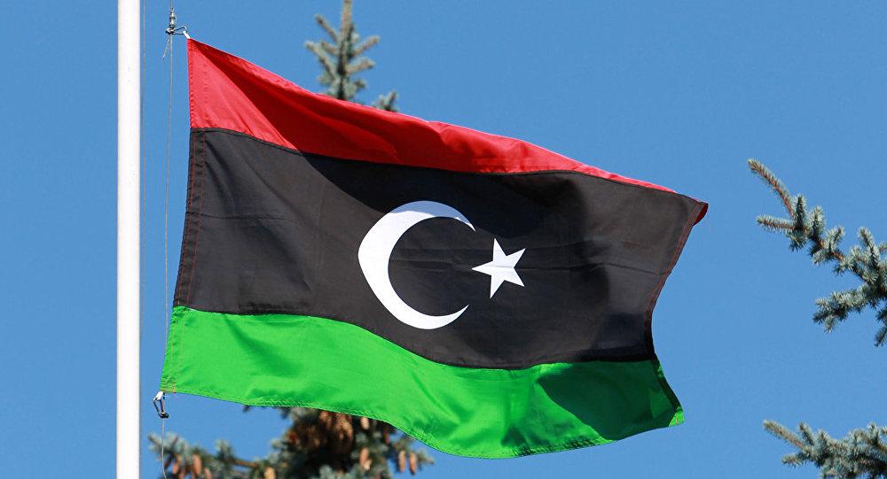 العلم الليبي