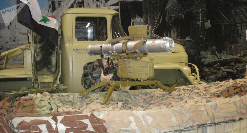 قاذف صواريخ مضادة للدبابات