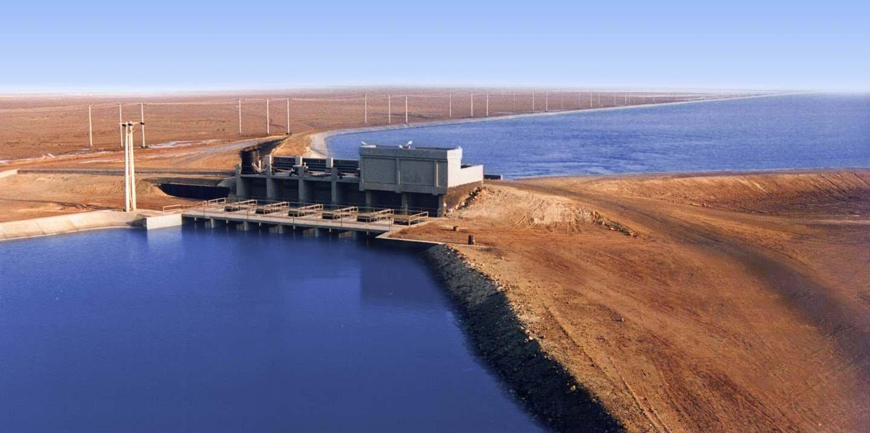 محطة رفع المياه أكبر محطة على مستوى العالم РЫБА