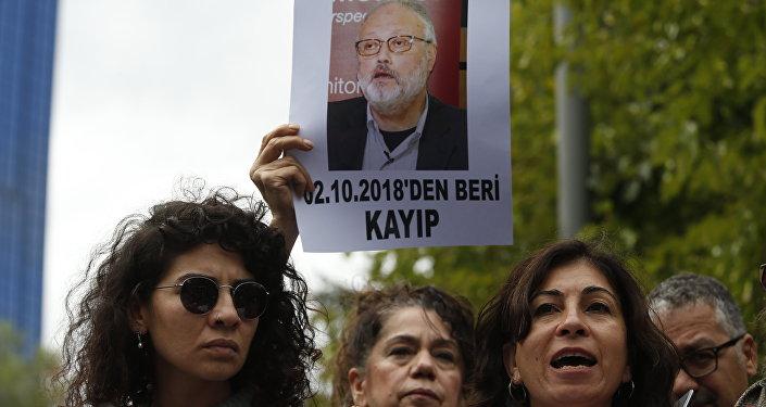 السفارة السعودية في اسطنبول، تركيا 9 أكتوبر/ تشرين الأول 2018