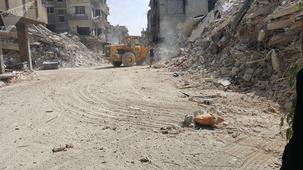 مخيم اليرموك، سوريا أكتوبر/ تشرين الأول 2018
