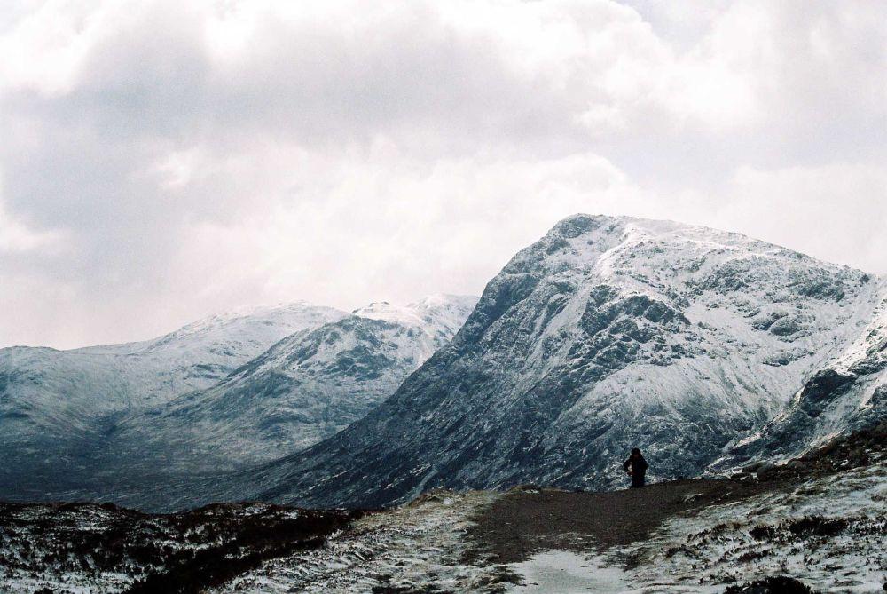 مشهد يطل على السلسلة الجبلية أيش إكش، اسكتلندا