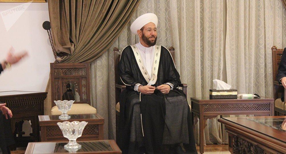 مفتي سوريا أحمد بدرالدين حسون