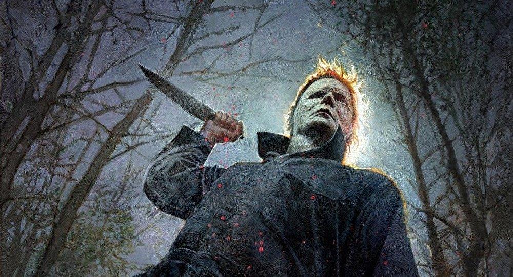 ملصق الفيلم الأمريكي هالوين