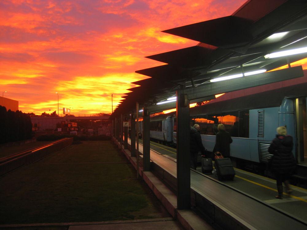 محطة القطارات كرايست تشيرتش (Christchurch Train Station) في نيوزيلندا