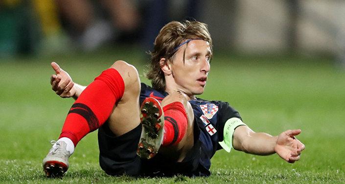 اللاعب الكرواتي لوكا مودريتش