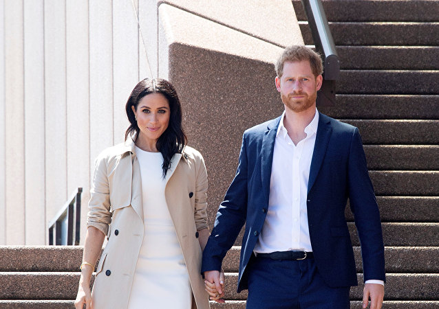 الأمير هاري وزوجته ميغان ماركل