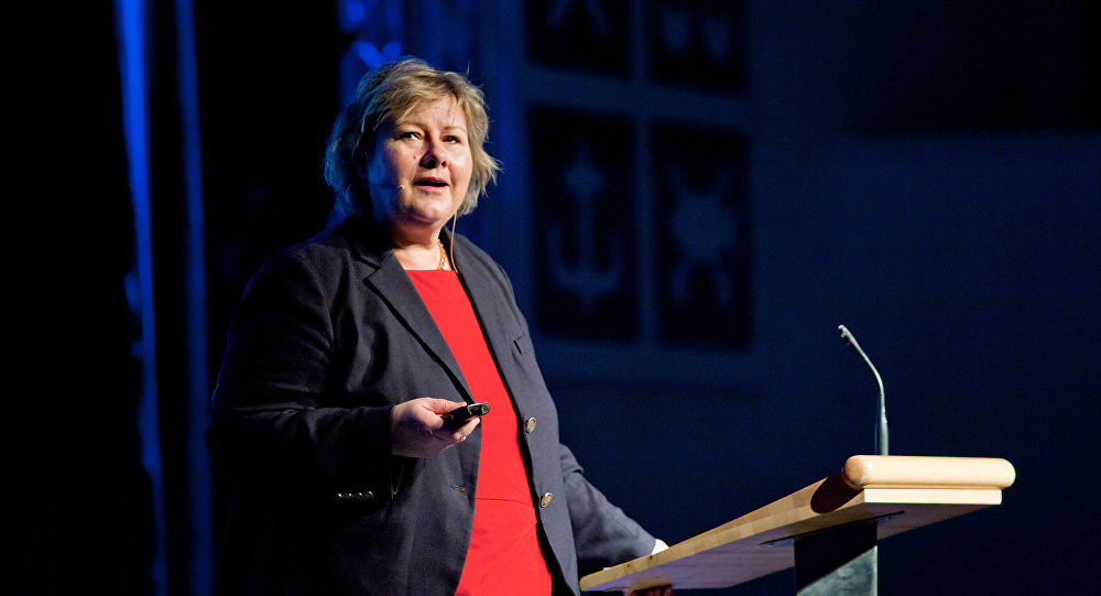 رئيس الوزراء النرويجية إرنا سولبرغ