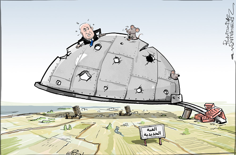 القبة الحديدية فشلت في التصدي لـصواريخ الفجر