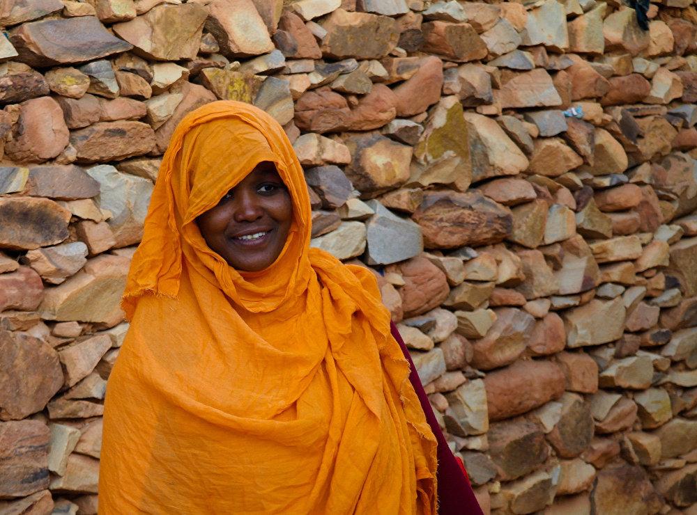 امرأة موريتانية