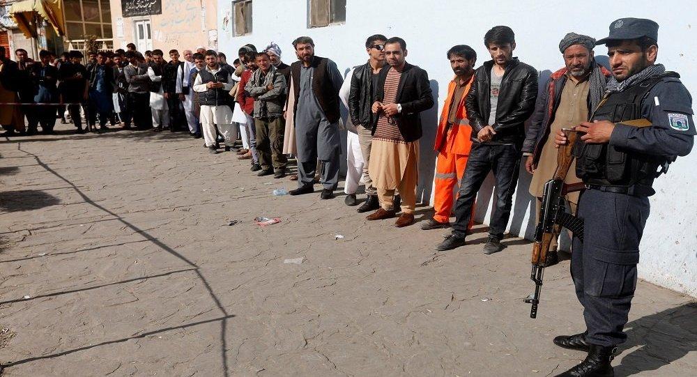 الانتخابات البرلمانية في أفغانستان