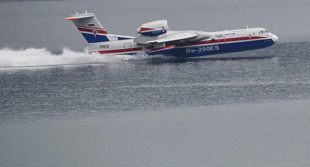 طائرة برمائية
