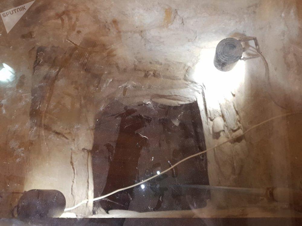 البئر المقدسة بدير سانت كاترين