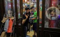 محل حلاقة في البلدة القديمة في دمشق، سوريا 13 سبتمبر/ أيلول 2018