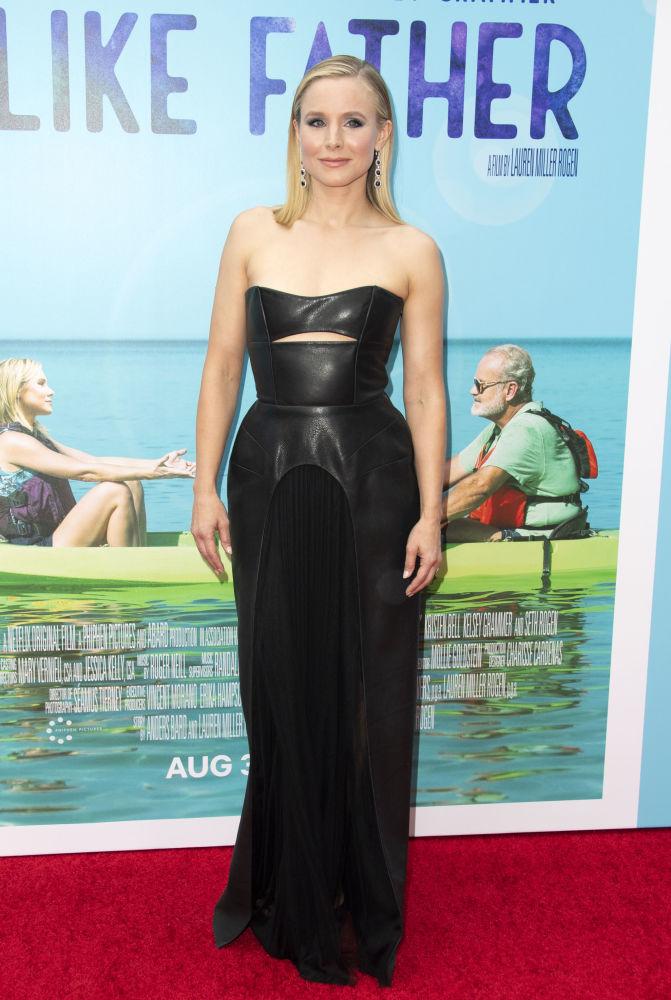 الممثلة الأمريكية كريستين بيل