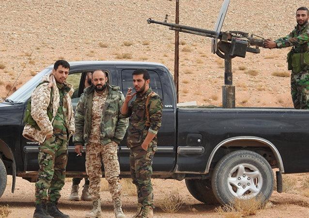 الجيش السوري في إدلب