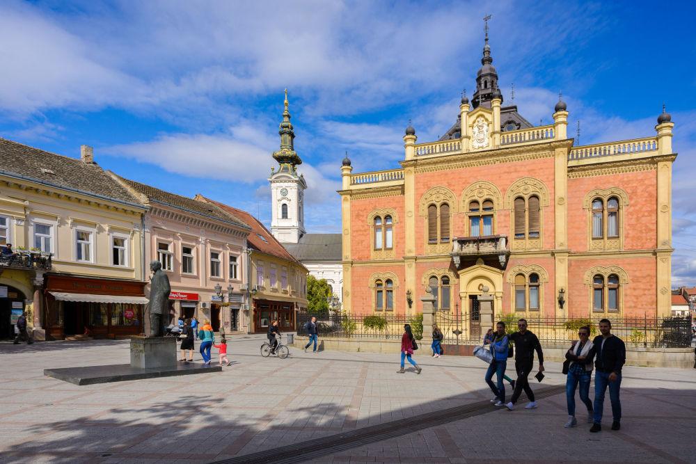 مدينة نوفي-ساد في صربيا