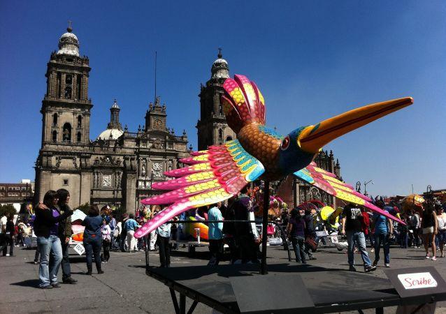 وسط مدينة المكسيك