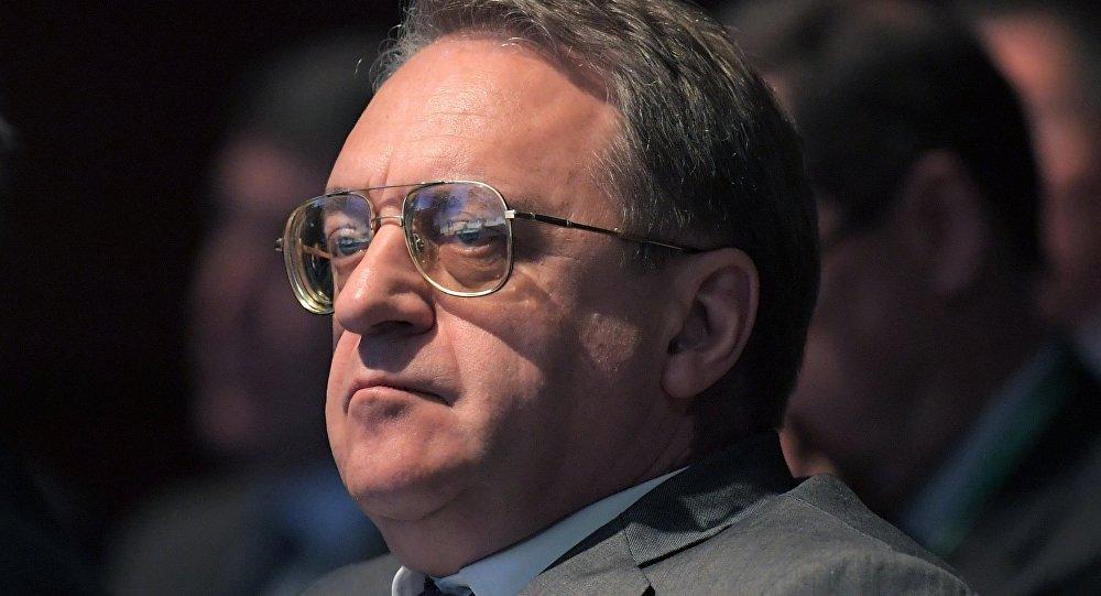 المبعوث الخاص للرئيس الروسي للشرق الأوسط وشمال أفريقيا ميخائيل بوغدانوف