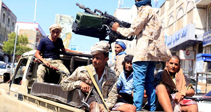 قوات الجيش الحكومية في مدينة تعز، اليمن 6 أكتوبر/ تشرين الأول 2018