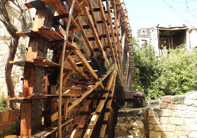 نواعير مائية في حماة، سوريا