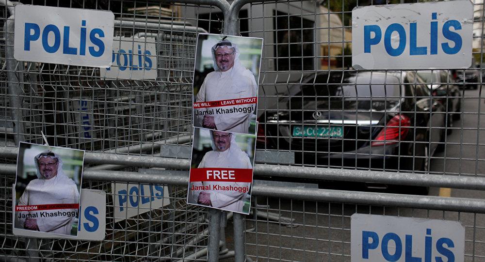 صور الصحفي السعودي جمال خاشقجي، القنصلية السعودية، في اسطنبول، تركيا أكتوبر/ تشرين الأول 2018