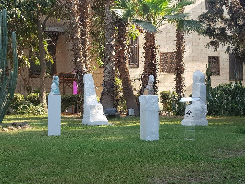 معرض تشكيلي في قصر محمد علي