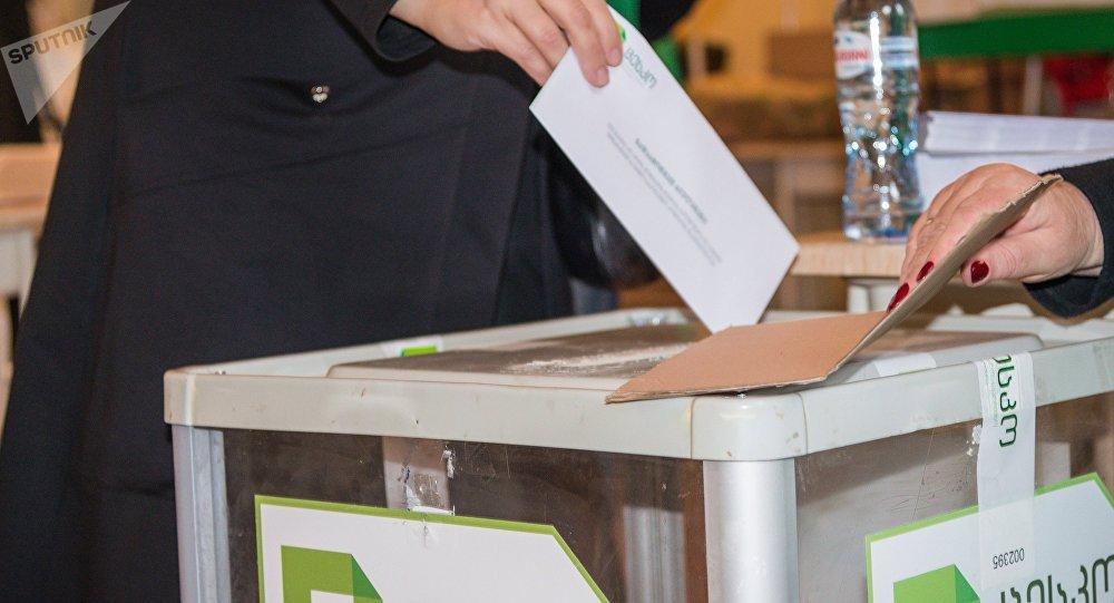 الانتخابات الرئاسية في جورجيا