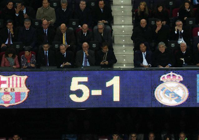 برشلونة ريال مدريد