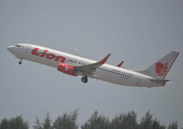 طائرة من طراز بوينغ 737/8 تابعة لشركة ليون إير الإندونيسية
