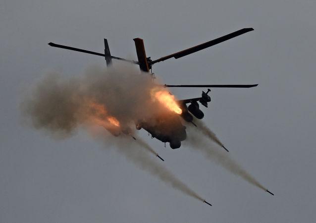 مروحية كا-52 أليغاتور