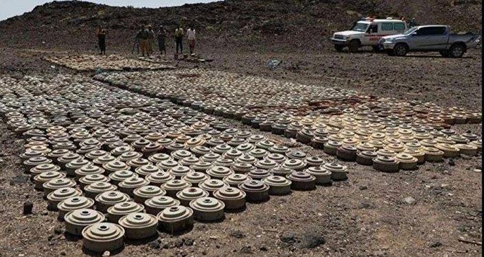 ألغام اليمن