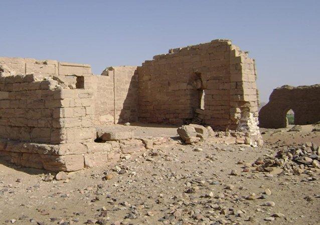 أعمال بعثة أثرية في مصر