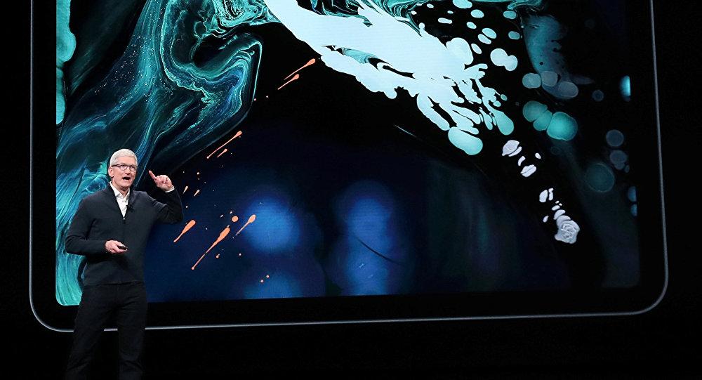 رئيس أبل يكشف عن جهاز آيباد برو الجديد، 30 أكتوبر/تشرين الأول 2018