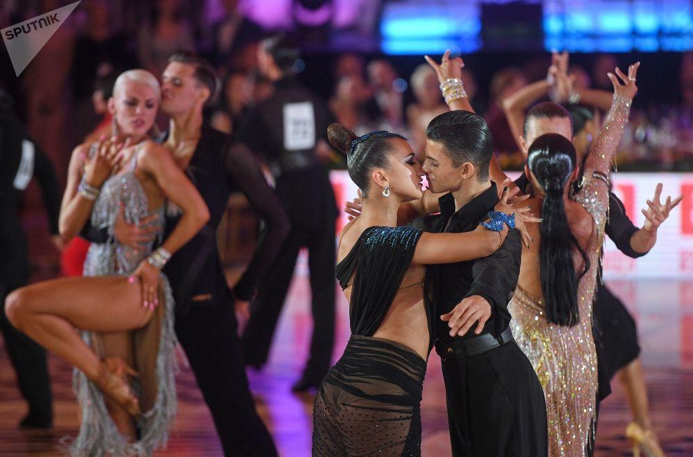 بطولة أوروبا لرقصات أمريكا اللايتينية في قاعة  قصر الكرملين