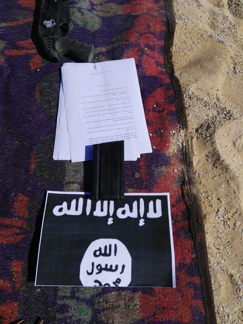 موقع اختباء الإرهابيين في محافظة المنيا المصرية