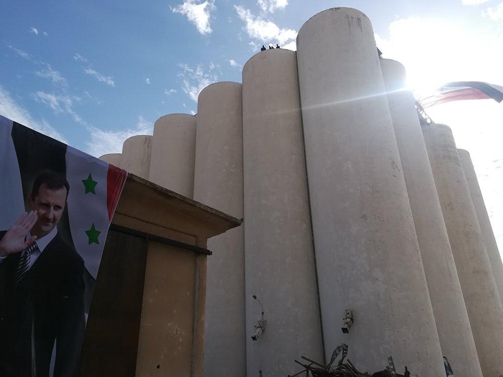 صوامع حبوب في سوريا