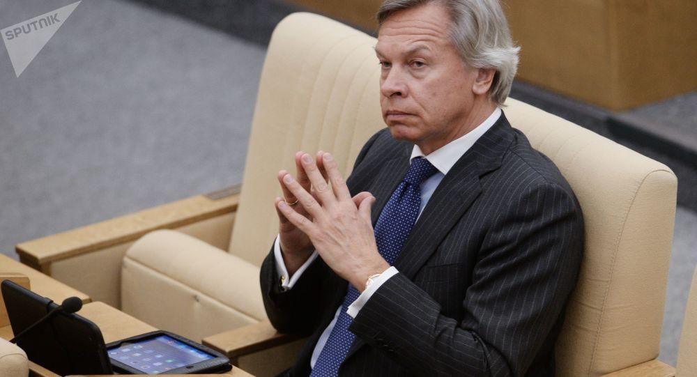 السيناتور الروسي سيرغي بوشكوف