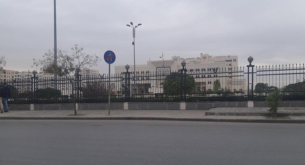 مقر رئاسة الحكومة السورية في دمشق