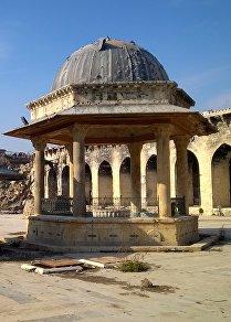 إعادة بناء جامع حلب الكبير بالصور والحقائق