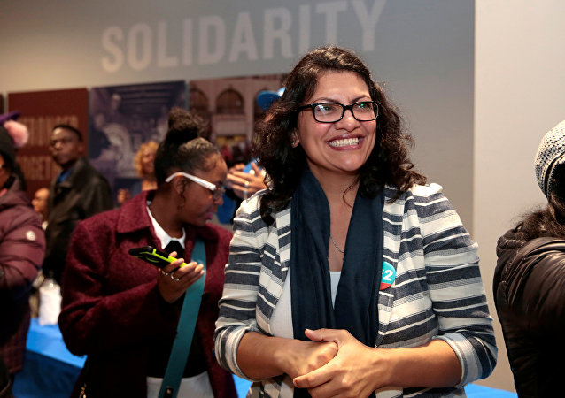 عضو الحزب الديمقراطي في الكونغرس الأمريكي، رشيدة طليب، ذات أصول فلسطينية