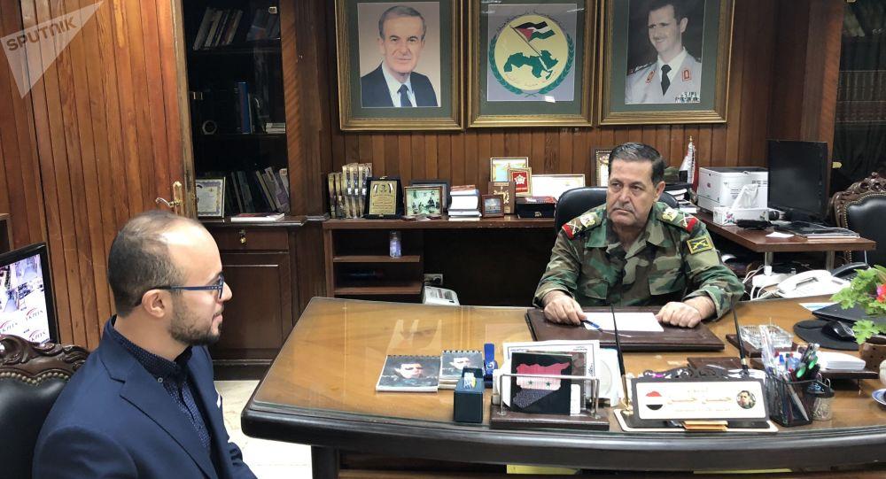 اللواء في الجيش السوري حسن أحمد حسن