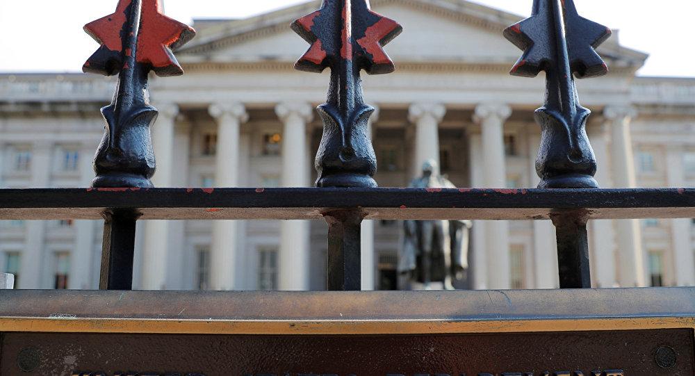 مبنى المالية الأمريكية في العاصمة واشنطن