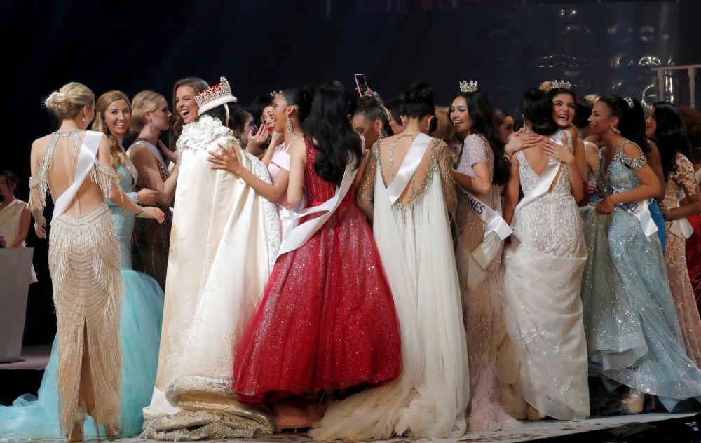 Участницы конкурса красоты Мисс Интернешнл - 2018 в Токио, Япония