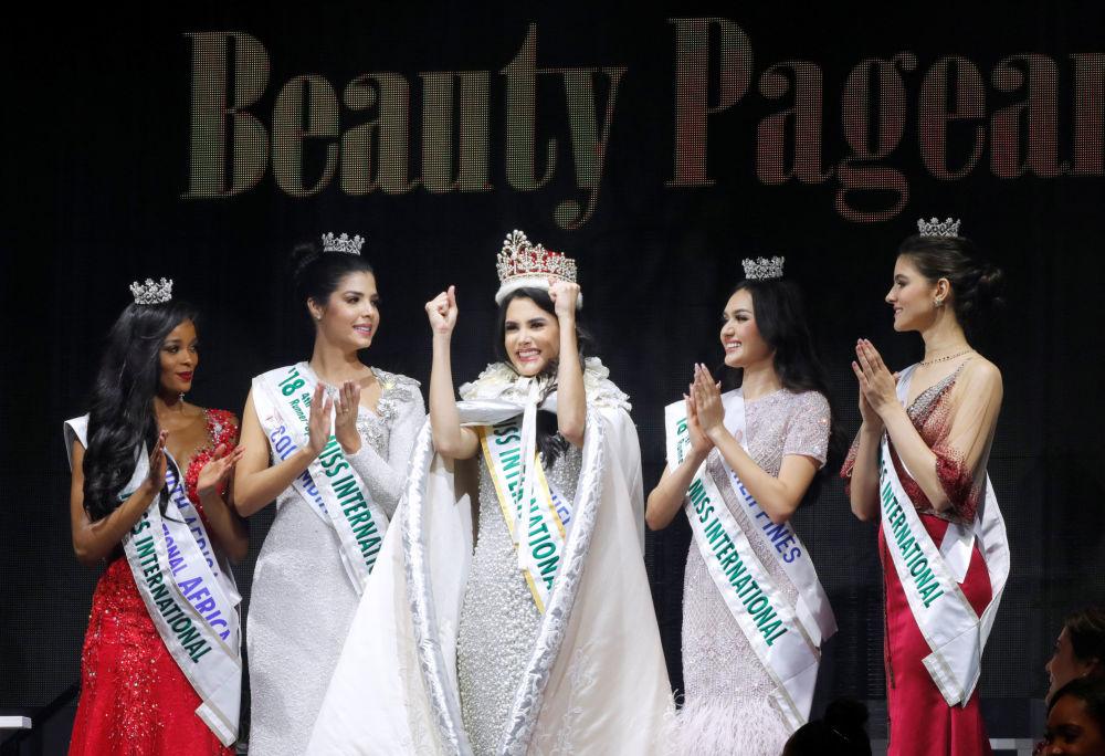 الفائزة بمسابقة ملكة جمال الأمم - 2018 في طوكيو، اليابان