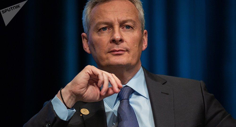 وزير الاقتصاد والمالية الفرنسي، برونو لومير