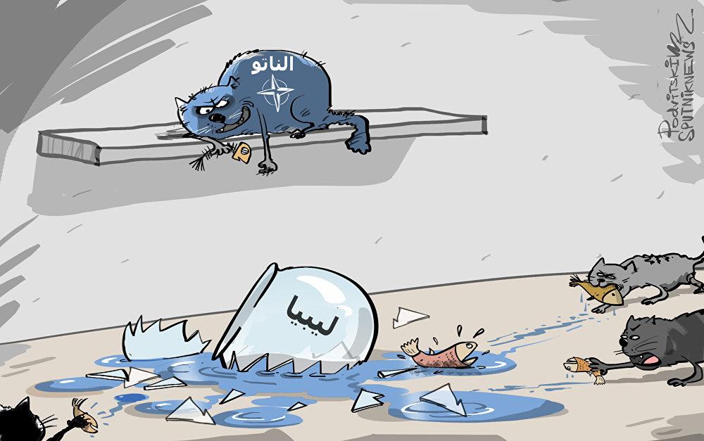 ستولتنبرغ: حلف الناتو غير مسؤول عما حدث في ليبيا