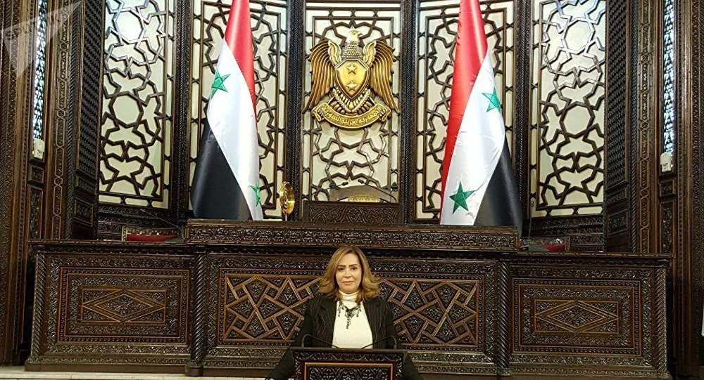 نائبة رئيس جمعية الصداقة السورية الصينية أميرة ستيفانو