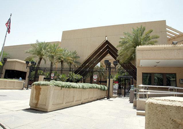 السفارة الأمريكية في العاصمة السعودية الرياض