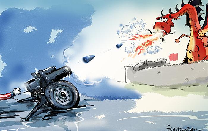 الولايات المتحدة تهدد الصين بالحرب الباردة